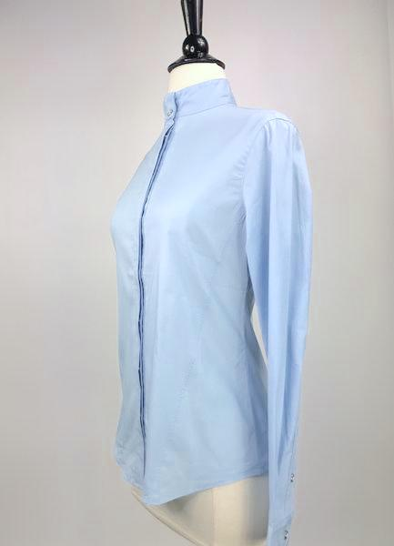Callidae Show Shirt in Sky Blue -  Left Side View