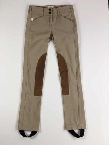 The Tailored Sportsman Trophy Hunter Jods in Tan - Children's 14R | L