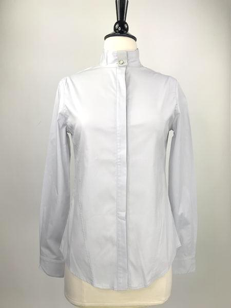 front view of Callidae Dove Grey Show Shirt - Women's XL