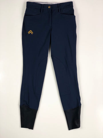 Sakkara Equestrian Javi Breeches in Navy - Women's US 20 | XS