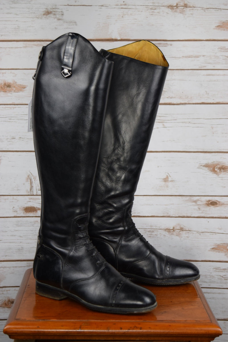 Fabbri Custom Field Boots in Black - Approx. Women's 9.5 Tall/XL