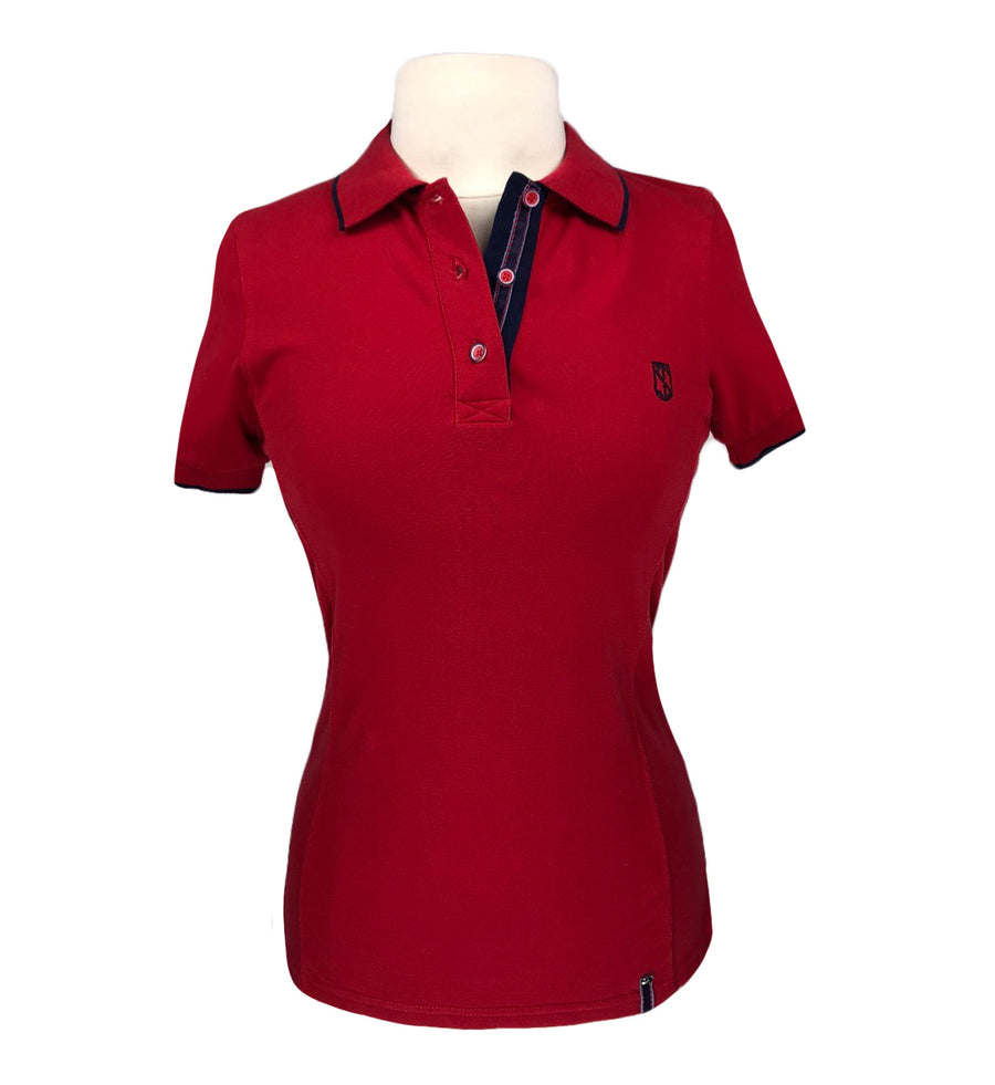 Tredstep Ireland Polo in Red - Women's S