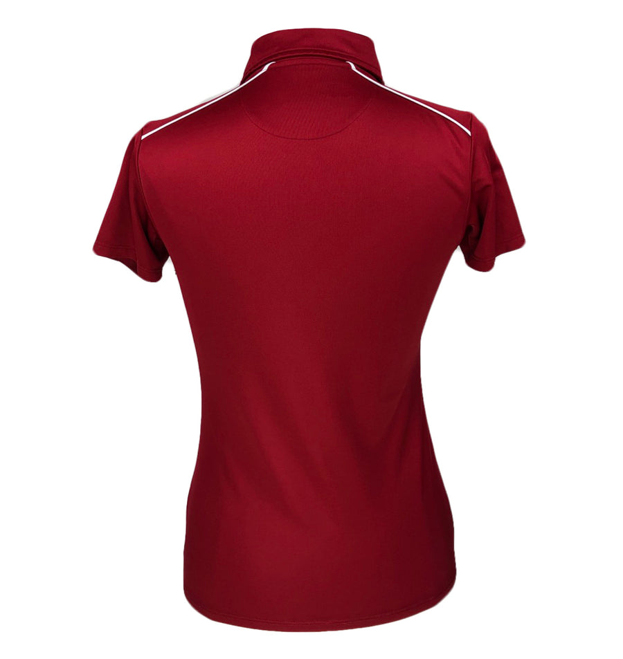 Under Armour Performance Polo in Red - Women's Small