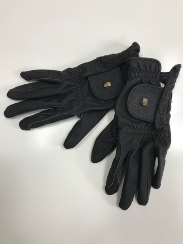 Roeckl Roeck-Grip Gloves in Black -  Outside View
