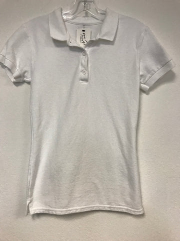 Hunt Club Polo in White - Front view