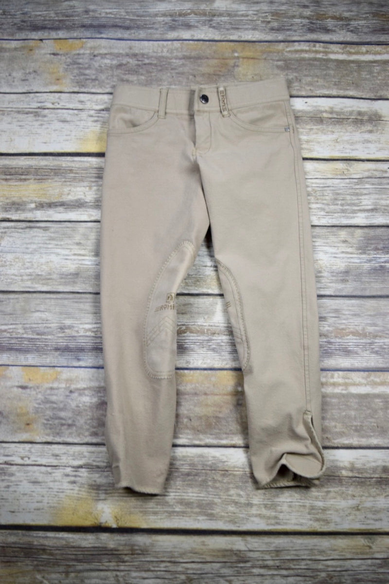 Romfh International Breeches in Tan - Children's 10