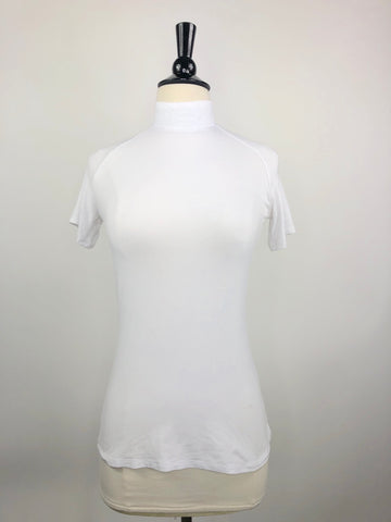 Street & Saddle Stride Show Shirt in White - Women's XS