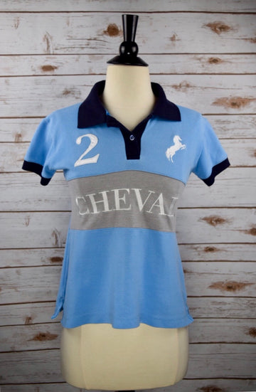 Cheval Polo in Blue - Women's XS