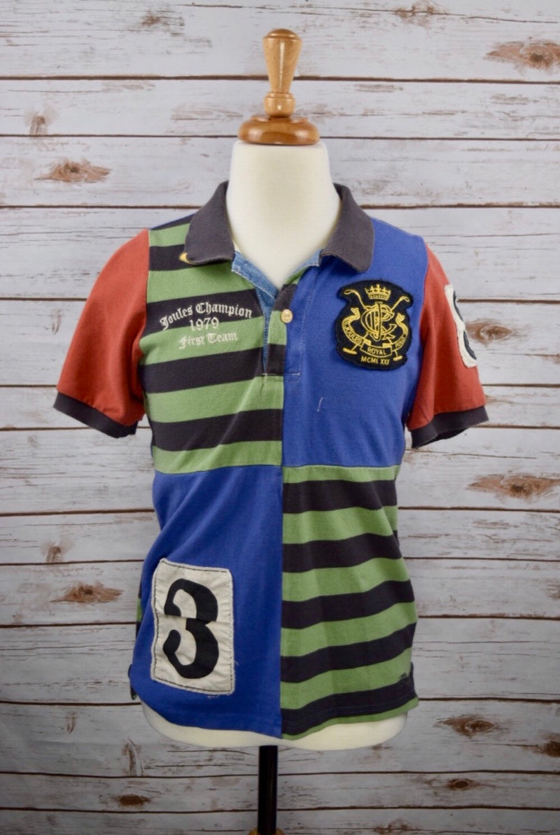 Joules Junior Royal Polo in Multi - Boys 9-10