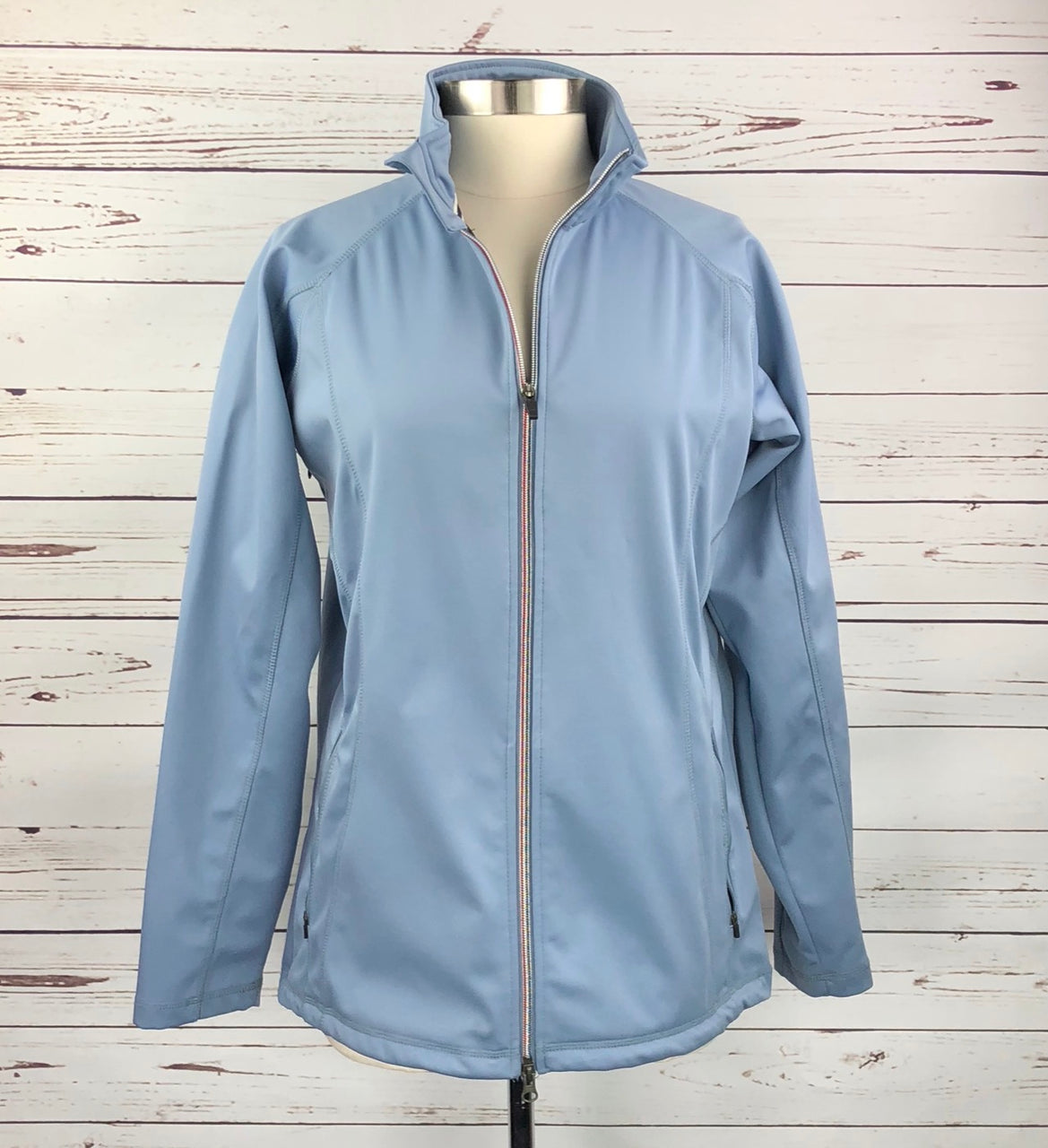 Kingsland Hillsport Softshell Jacket in Light Blue - Women's XL