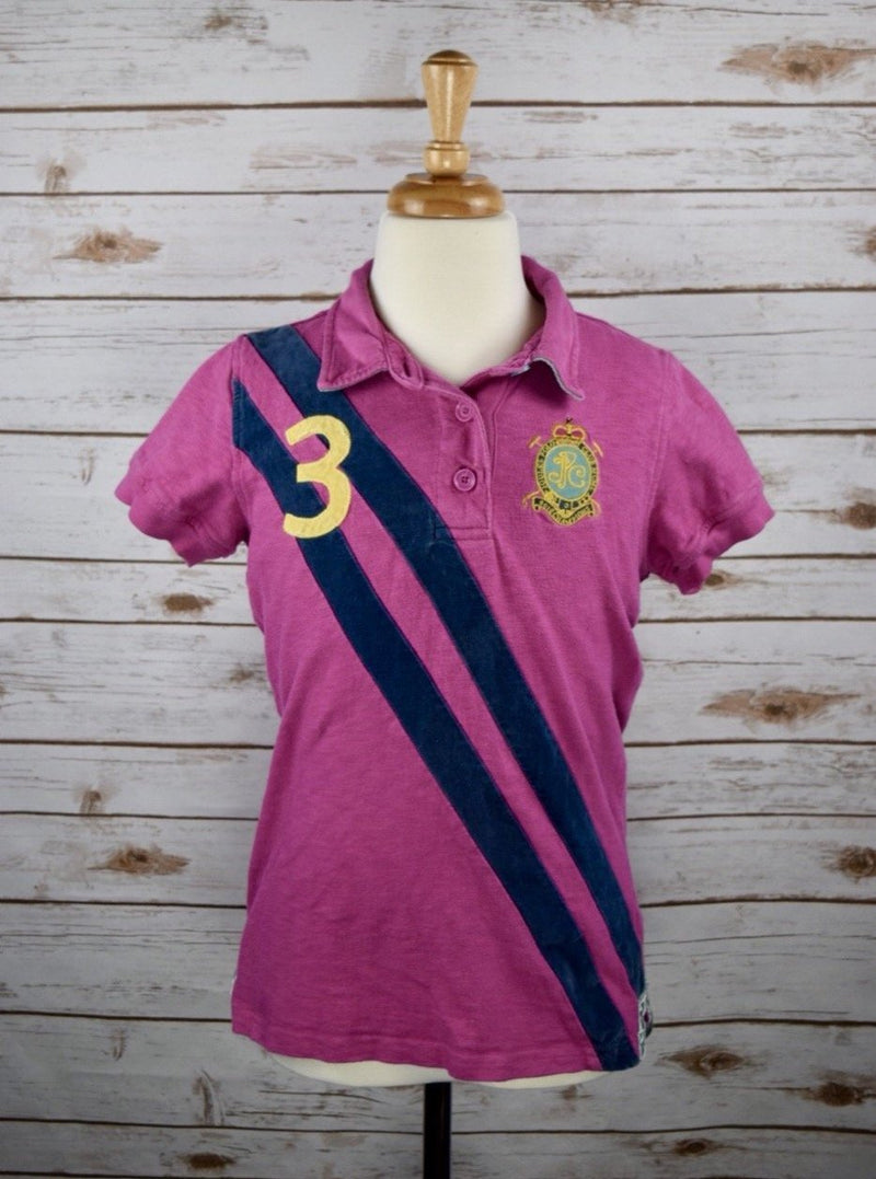 Joules Polo in Pink - Children's 11-12