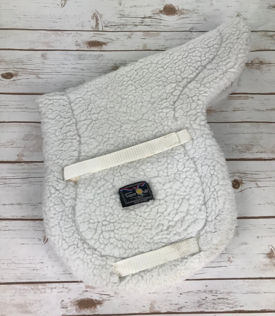 Toklat Medallion SuperQuilt Saddle Pad in White - 18.5