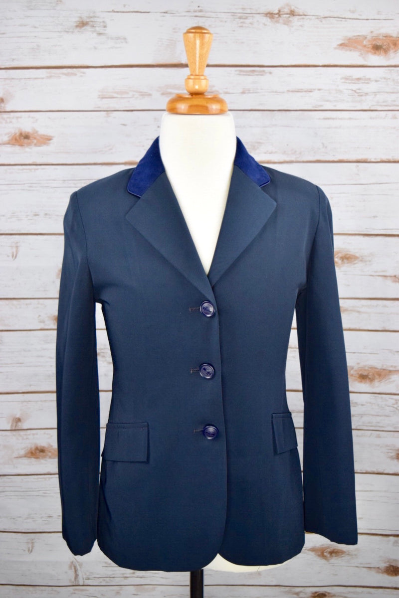 Grand Prix TechLite Show Jacket in Navy - Children's 12R Slim