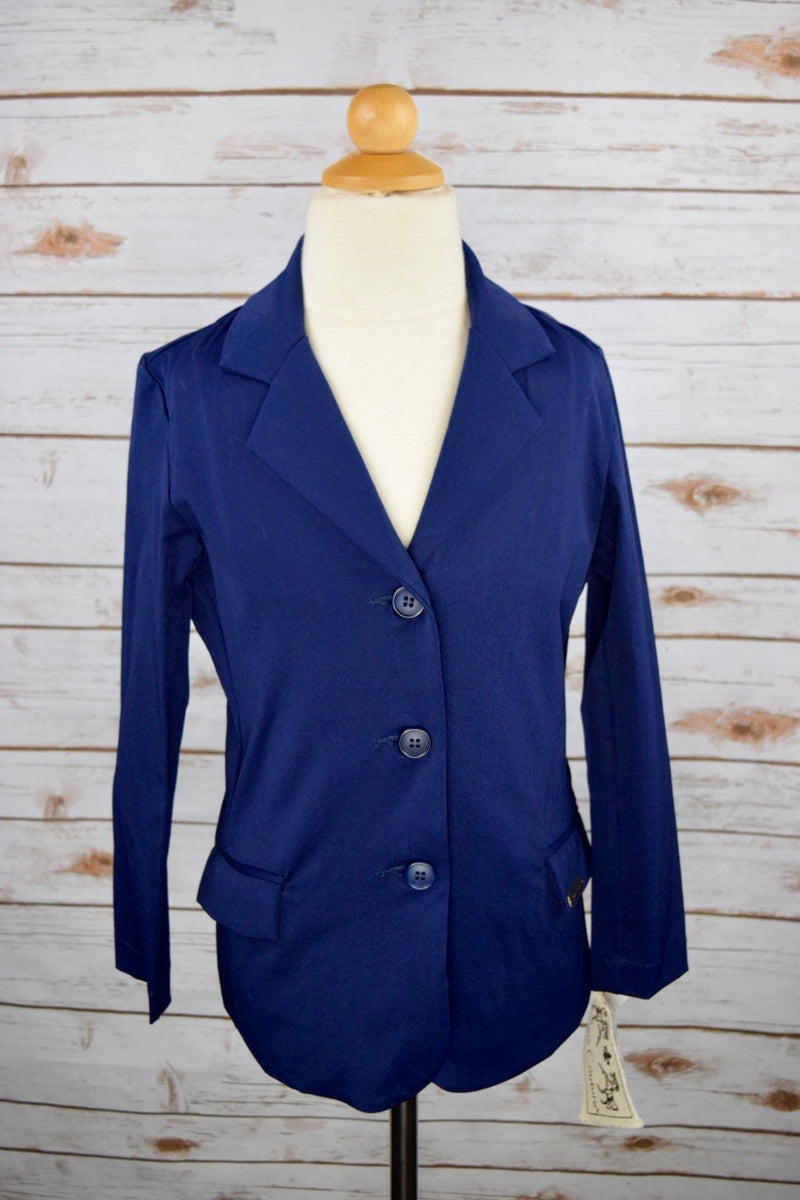 Equine Couture Raleigh Show Coat in Navy - Children's 6