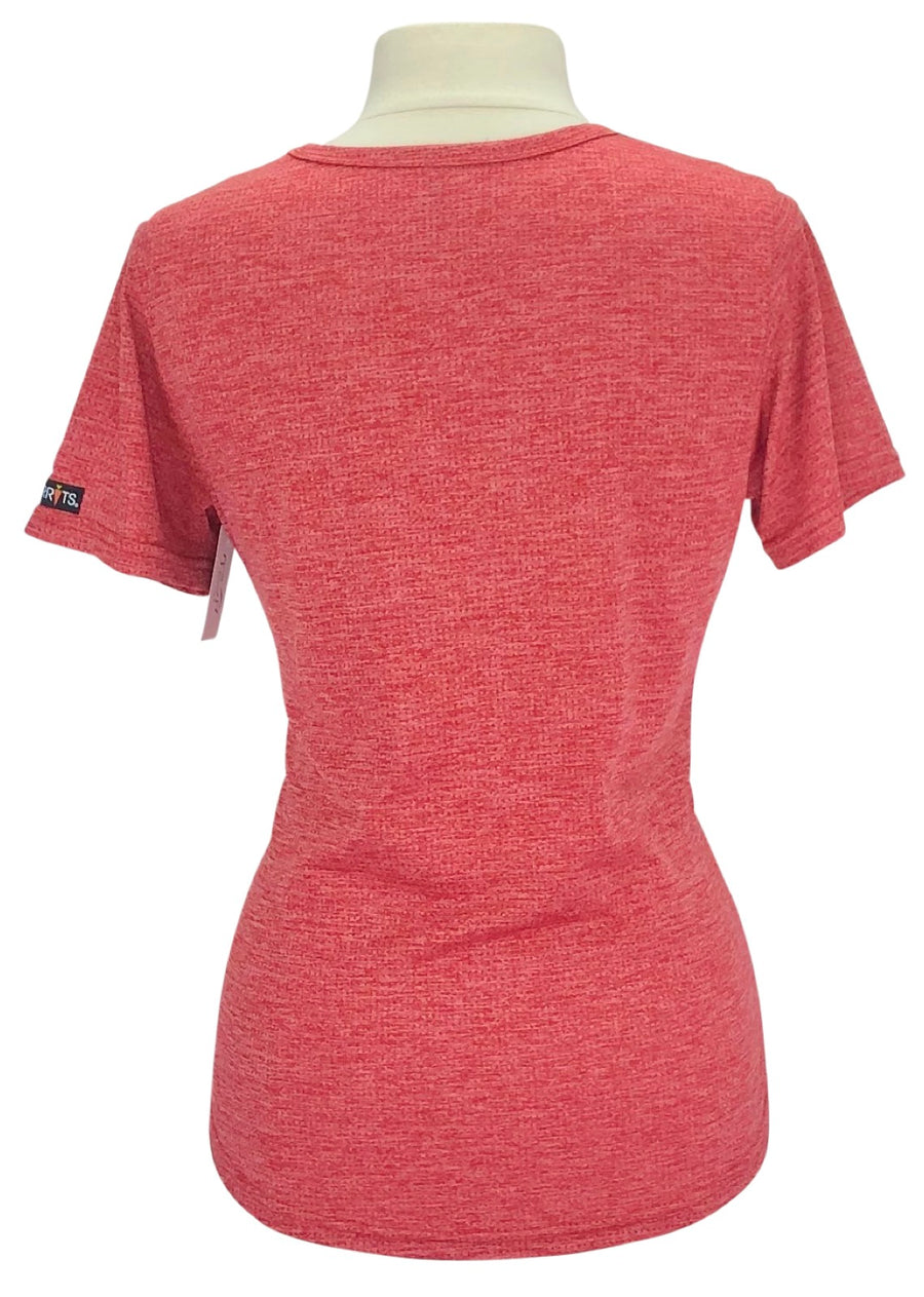 back view ofKerrits Ice Fil Tech Tee in Red