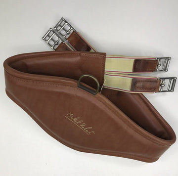 Prestige Michel Robert Girth in Light Brown - 125 cm