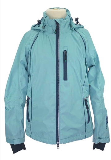 Riding Sport Rain Jacket in Teal