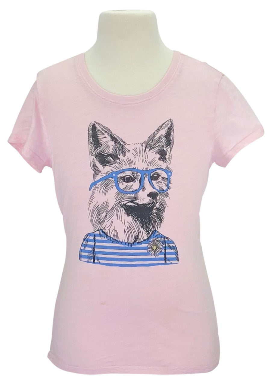 Ariat Fox Tee in Pink