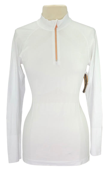 Anique Signature Sun Shirt in Pure White with tags