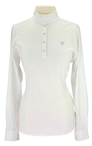 Ariat Pro Series Show Shirt in White