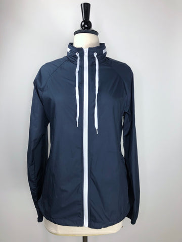 KLM Equestrian Wind Jacket in Navy - Front View