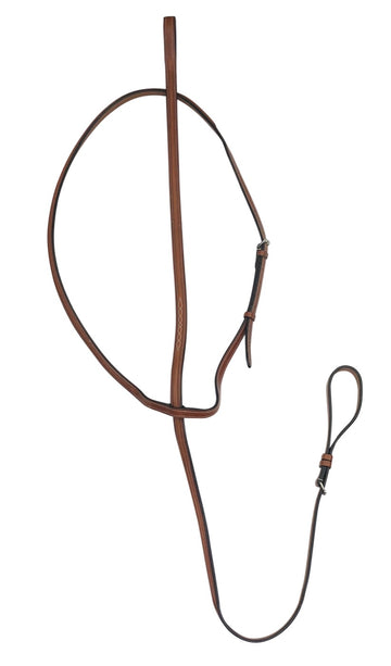 Bobby's English Tack Standing Martingale in Cognac