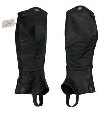 Outside of Parlanti Half Chaps in Black