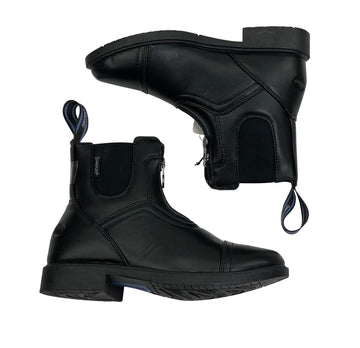 Ovation Energy Zip Paddock Boots in Black