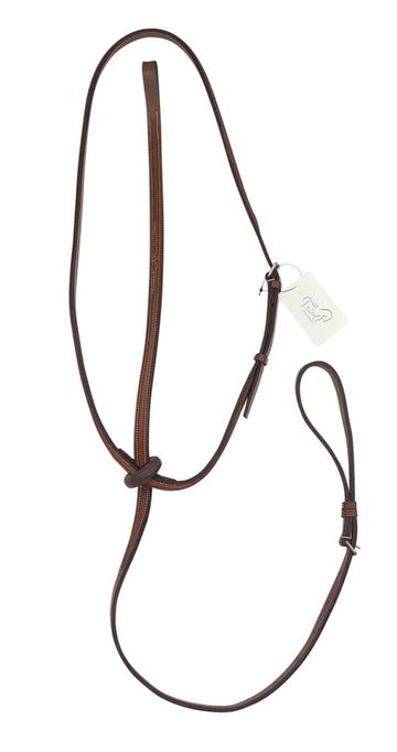 Jimmy's 21st Century Fancy Stitched Standing Martingale in chestnut