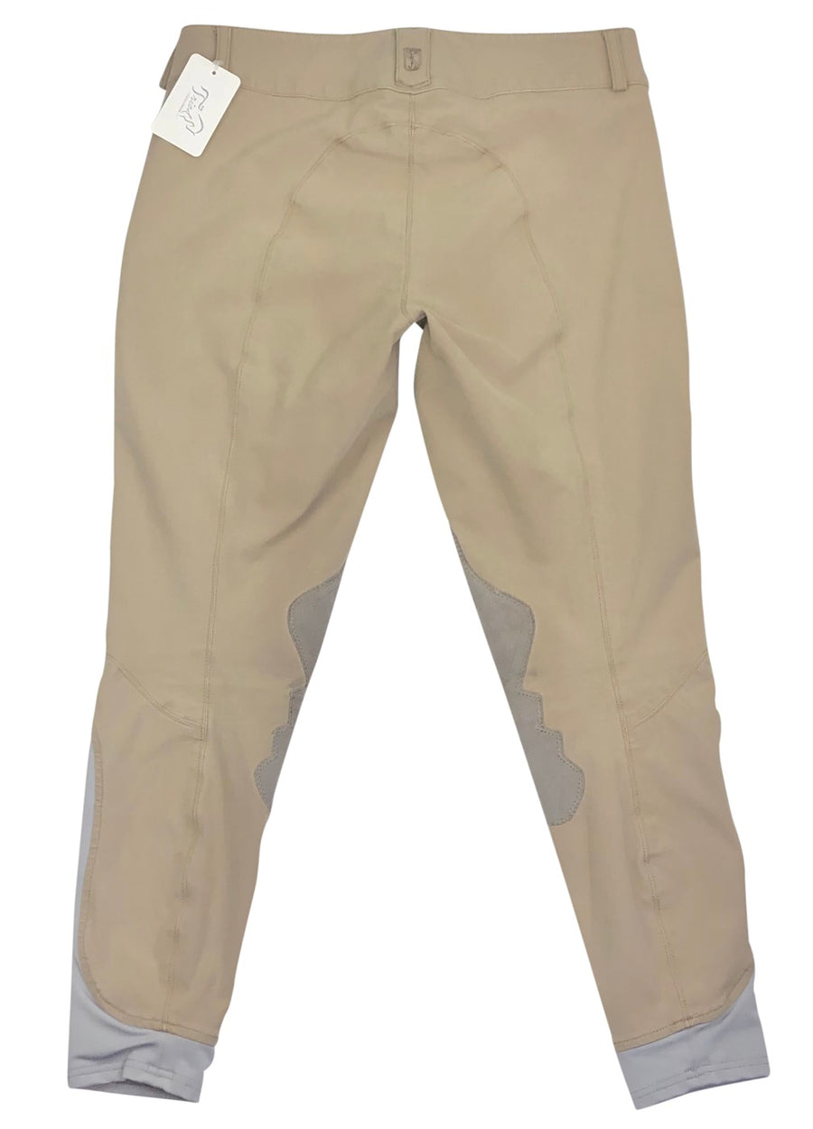Back of Tredstep Symphony Breeches in Tan