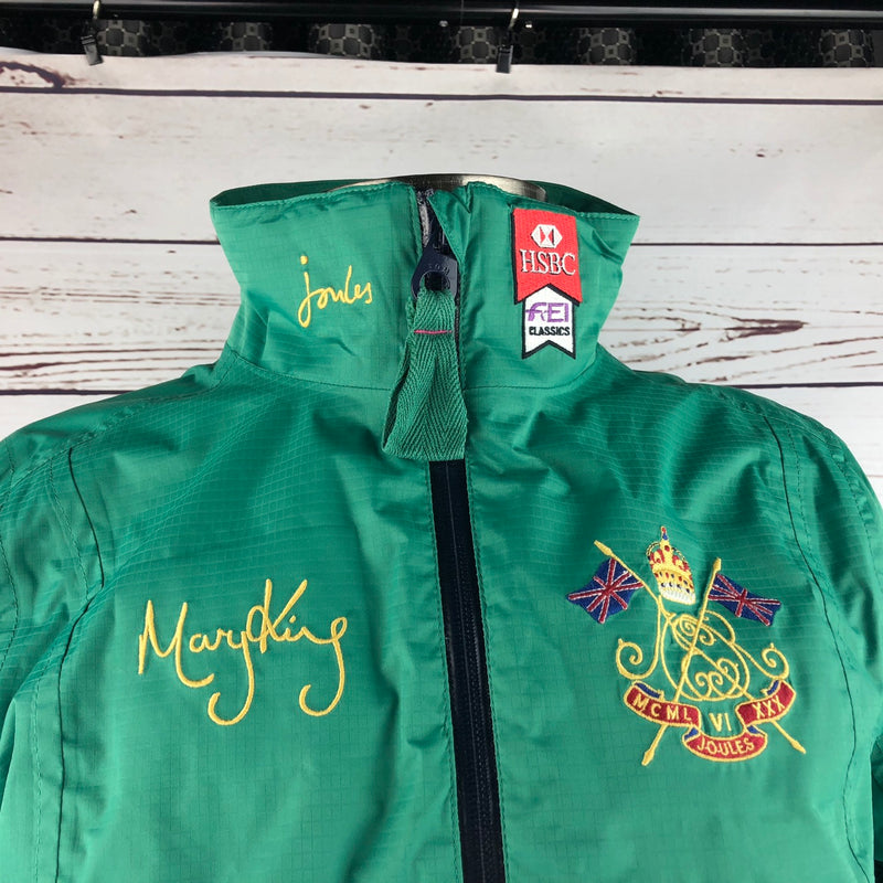 Joules Mary King Jacket in True Green - Women's UK 8/US 4