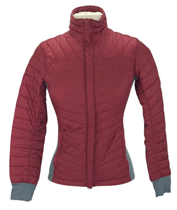 Ariat Down Jacket in Maroon