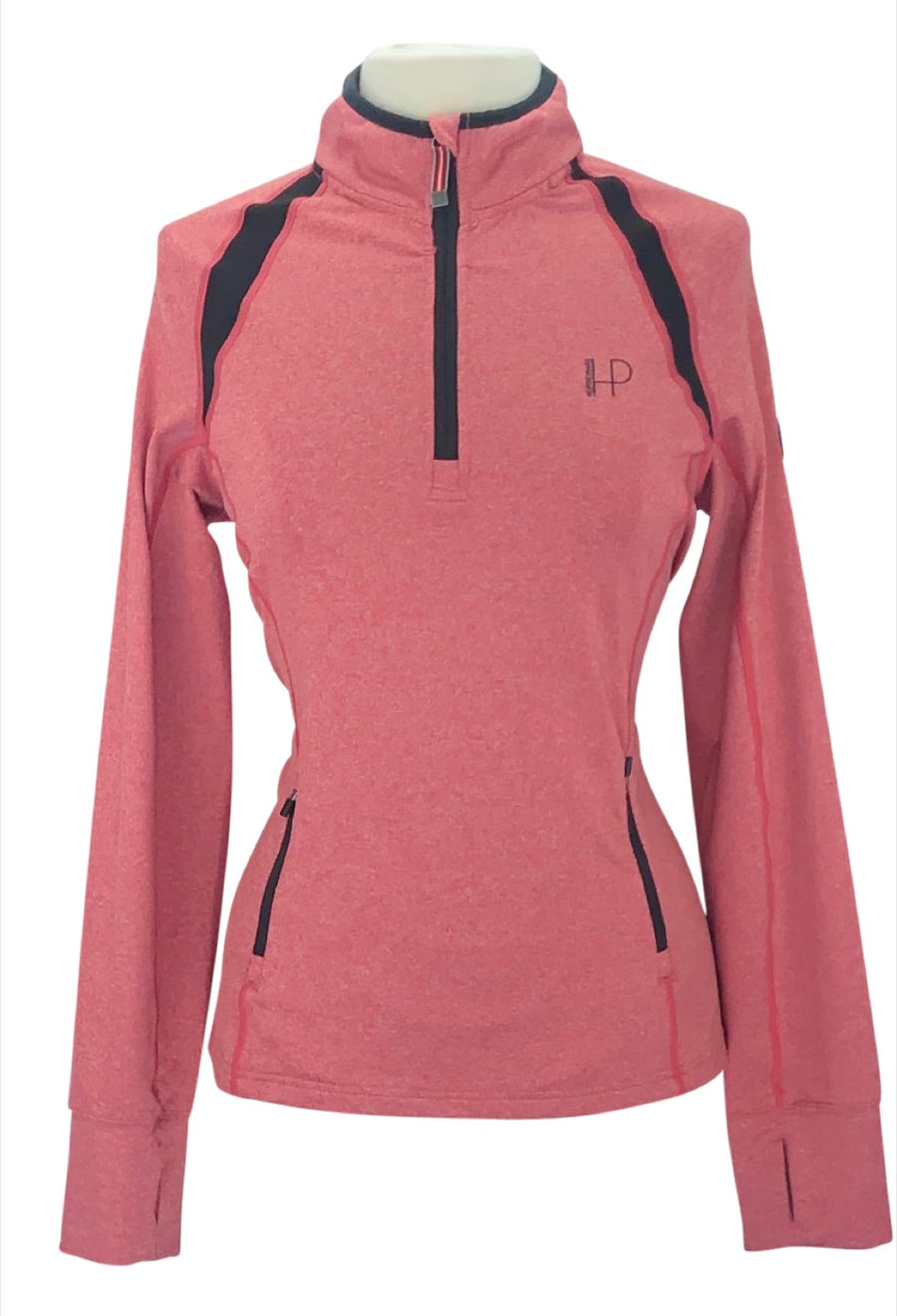 Horseware Quarter Zip in Heather Red