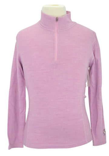Smartwool Base Layer Shirt in Pink