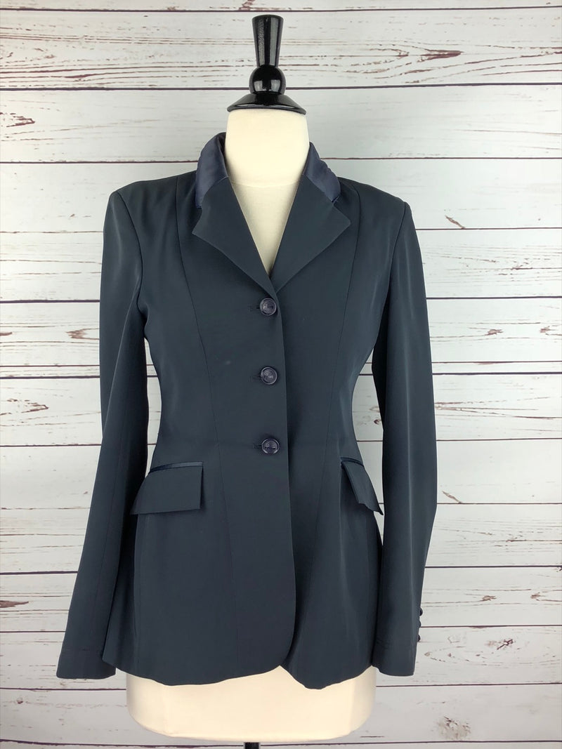 Grand Prix TechLite Hunt Coat in Navy - Women's 8R (US 2R)