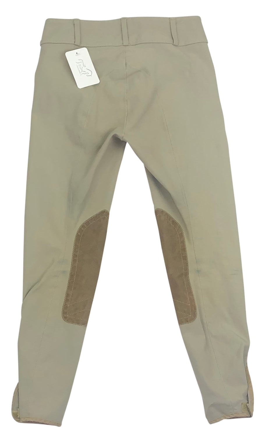 Back of Tailored Sportsman Trophy Hunter Breeches in Tan