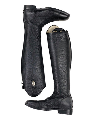 Deniro S3312-E Field Tall Boot in Textured Black - Overview
