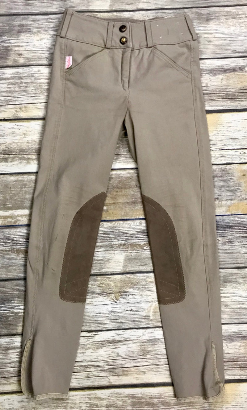 The Tailored Sportsman Trophy Hunter Breeches in Tan - Children's 8R