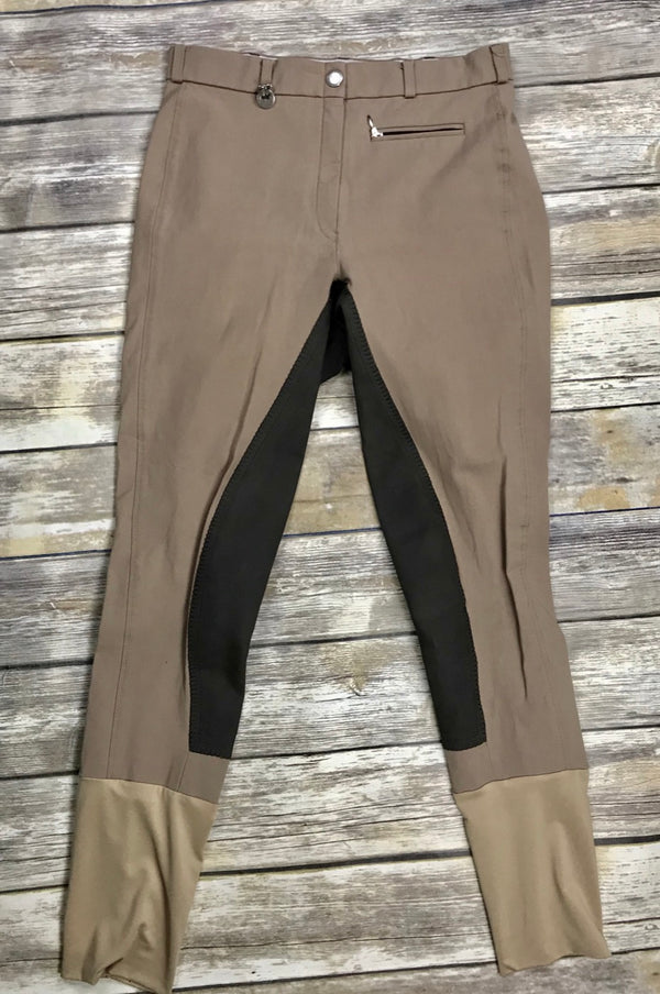 Pikeur Lugana Full Seat Breeches in Taupe - Women's 28L