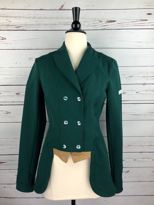 Animo Liguria Competition Jacket in Green - Women's IT 44