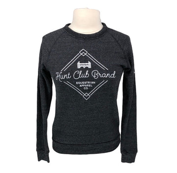 Hunt Club Crew Sweatshirt in Charcoal - Women's XS