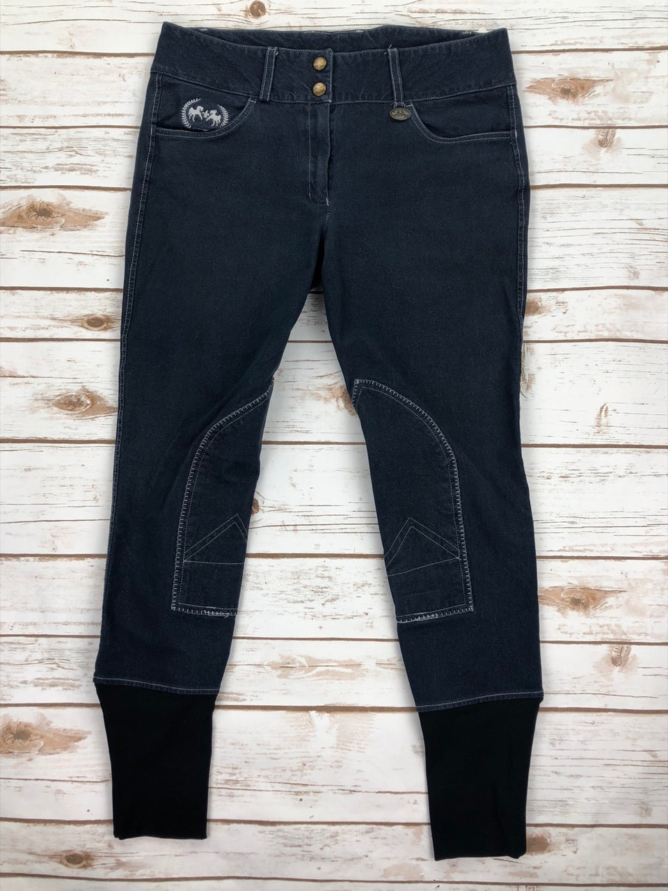 Equine Couture Bobbi Breeches in Denim - Women's 30R