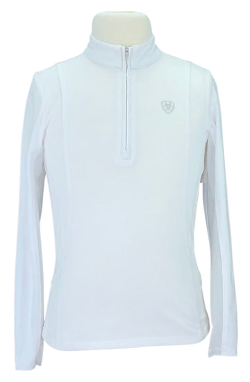 Ariat TEK Heat Series Long Sleeve in White