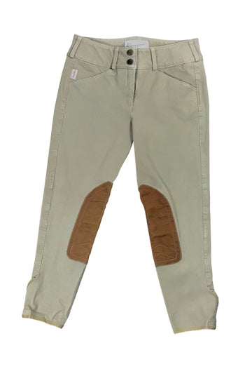 Tailored Sportsman Trophy Hunter Breeches in Tan - Children's 16R | XL