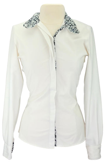 RJ Classics Sterling Show Shirt in White - Women's 34