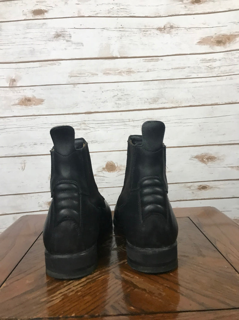 Tucci Time Harley Paddock Boots in Black - Approx. Women's 7.5
