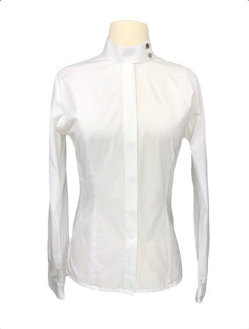 Hermes Competition Shirt in White - Women's FR 38 | M