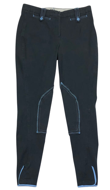 Alessandro Albanese Prestige Schooling Breeches in Navy