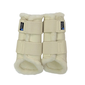 NWT Toklat Valena Front Boots in Cream - Size Medium