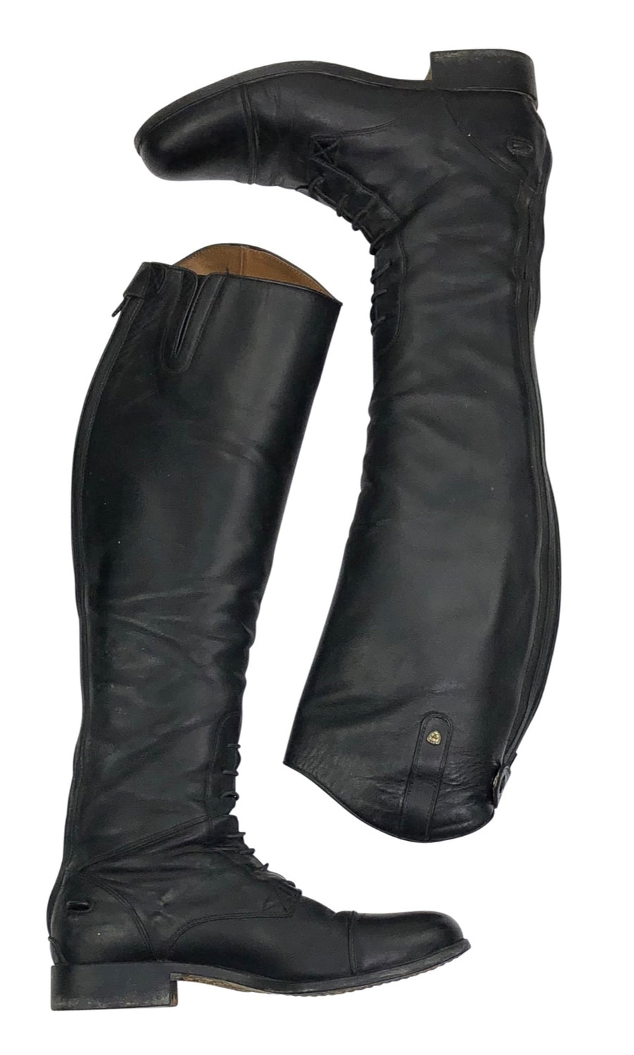 Ariat Heritage Contour Field Zip Tall Riding Boot in Black - Women's 11 Reg/Tall